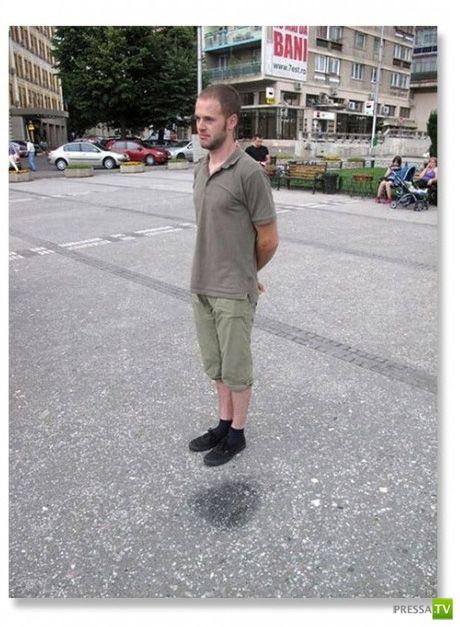 Обман зрения на фотографиях (15 фото)