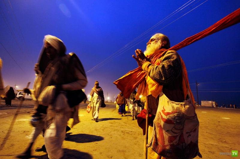 Индия: прздник Магх Мела (12 фото)