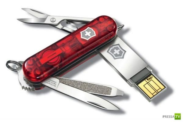 Швейцарский нож с терабайтом памяти (3 фото)