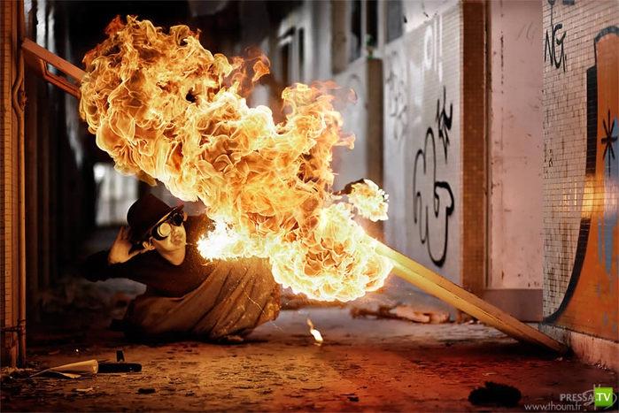 Мистический огонь Тома Лакосте (18 фото)