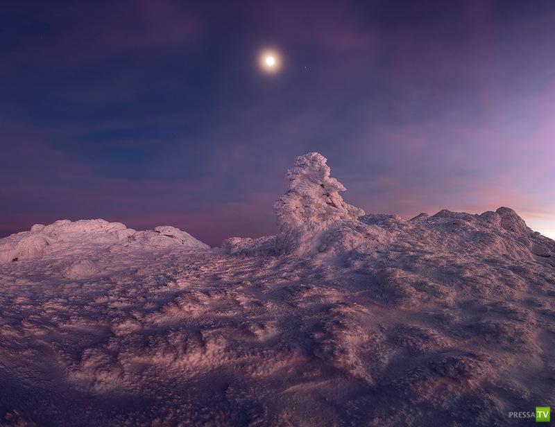 Сказочный зимний Крым (46 фото)