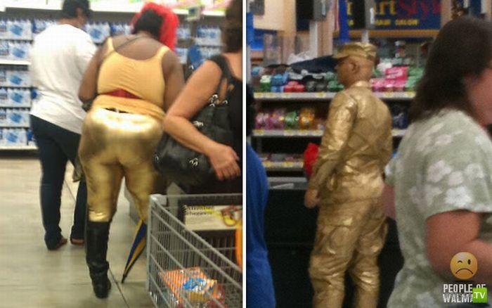 Странные люди в супермаркетах (59 фото)