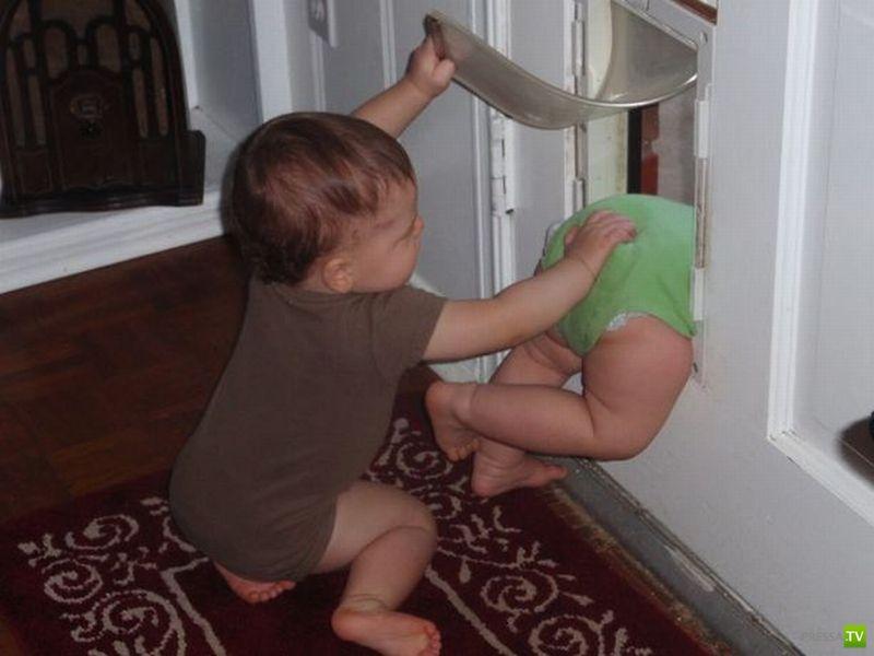 Забавные фото с детьми (24 фото)