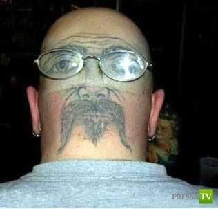 Самые сумасшедшие татуировки (15 фото)