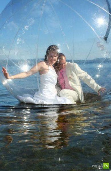 Очень странная свадьба (18 фото)