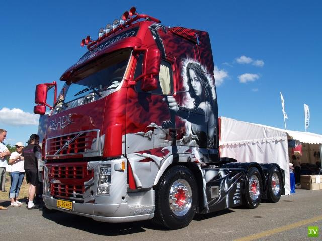 Аэрография на грузовиках (15 фото)