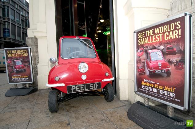 Самая маленькая машина в мире вернулась!!