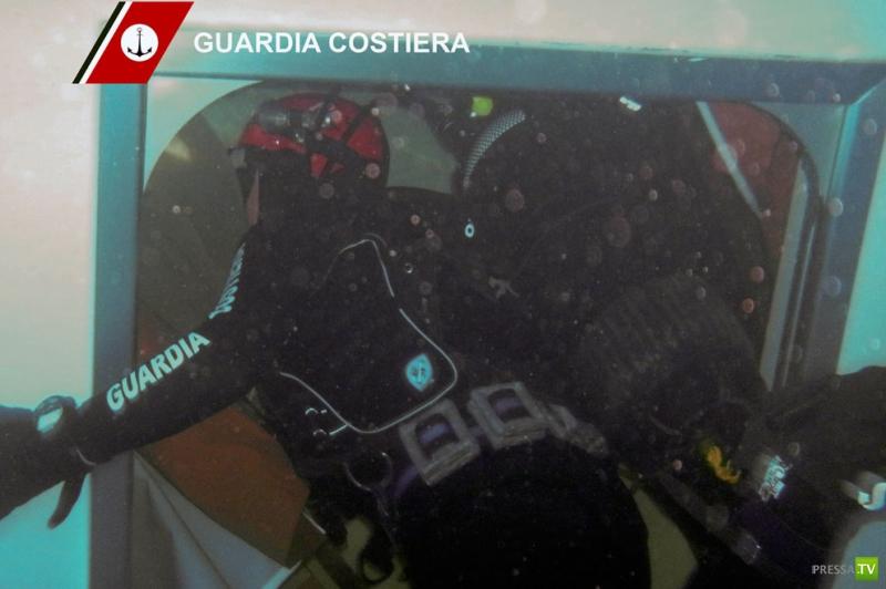 Внутри «Коста Конкордия»