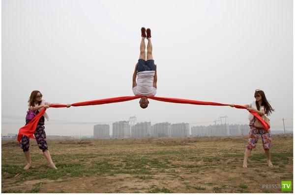 Необычные фото китайского фотографа (37 фото)