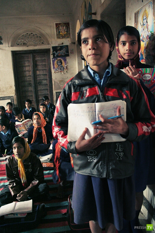 Индия. Школа города Мандава
