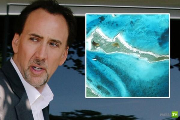 Голливудские звезды и их острова (28 фото)