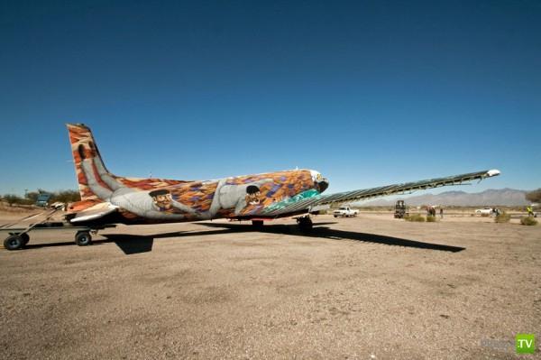 Разрисованные самолеты (21 фото)