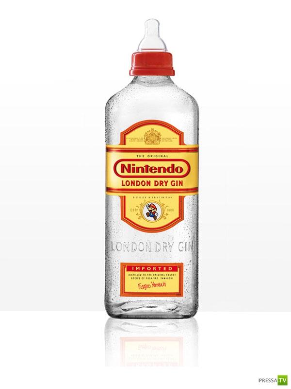 Детская выпивка. Идея Anna Utopia Giordano