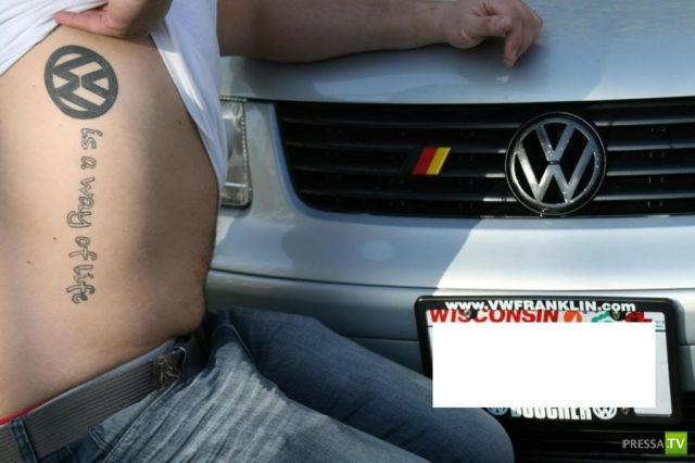 Любовь к Фольксваген (23 фото)