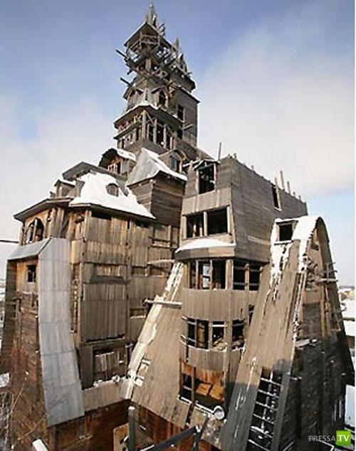Самые необычные дома в мире...