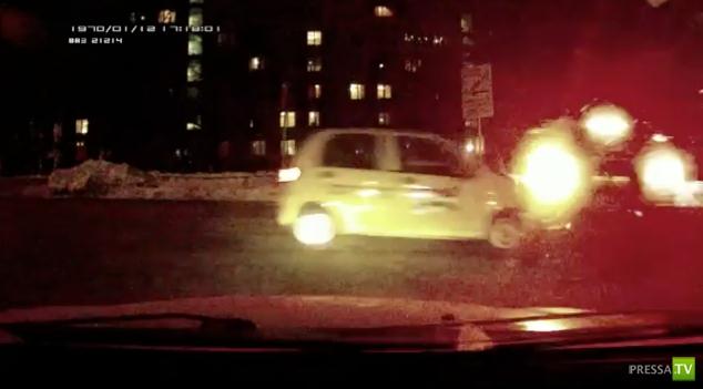 Авария на ул. 2-ая Пугачевская г. Москва