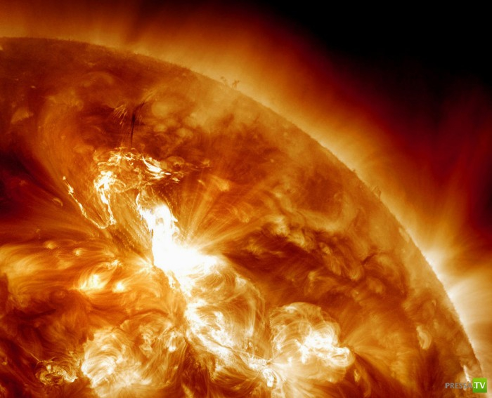 Сильнейшая солнечная буря накрыла Землю