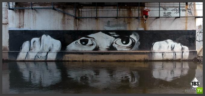 Уличный художник Павел 183 (25 фото)