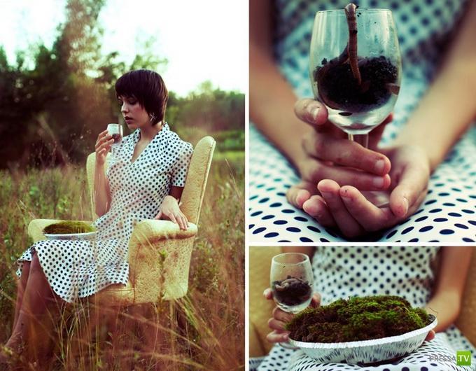 Автопортреты Sarah Ann Loreth