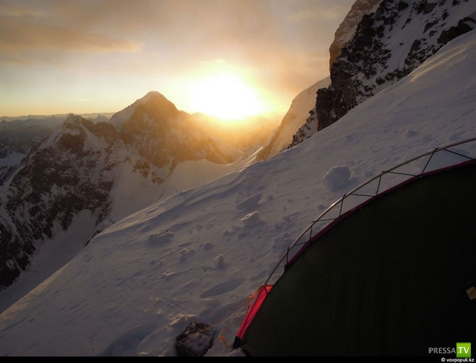 Cамая рискованная в мире гора для восхождения
