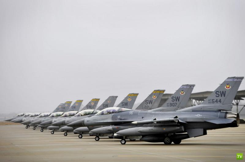 25 удивительных фотографий от представителей ВВС США