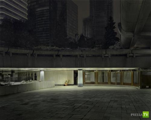 Голый и одинокий (20 фото)