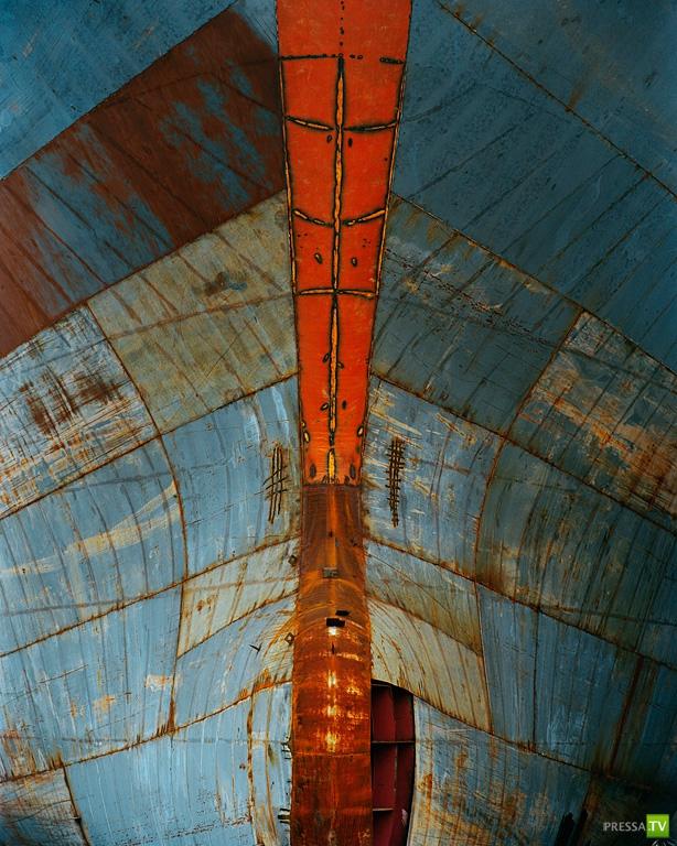 Абстрактная индустриальная фотография