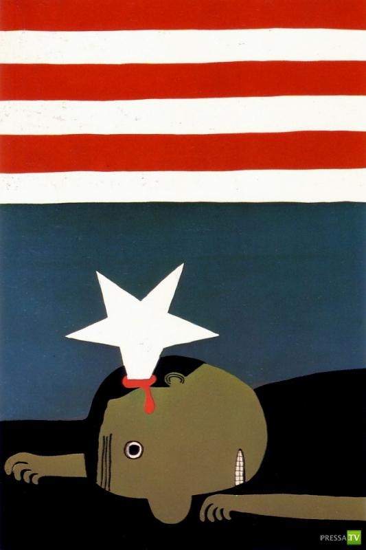 Винтажные политические плакаты