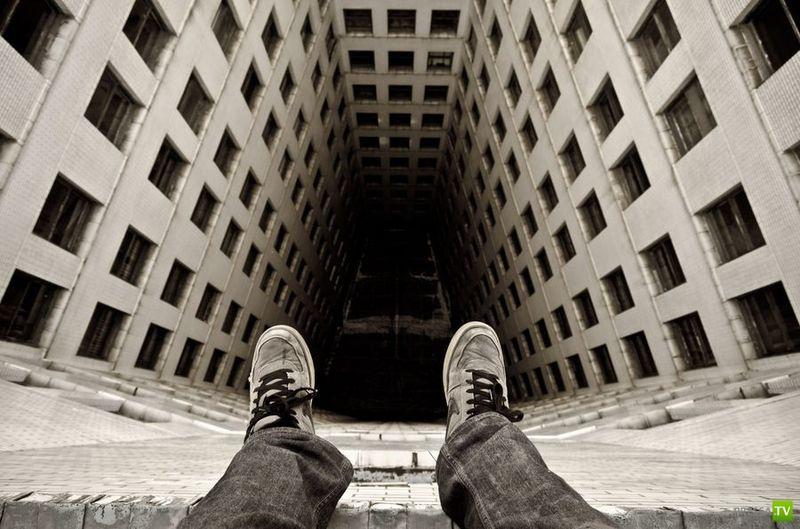 Экстремальный фотограф из Детройта