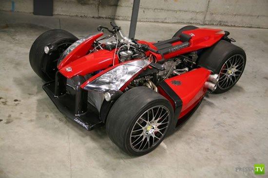 Квадроцикл с двигателем от Ferrari.