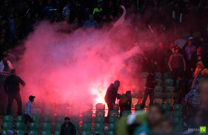 Беспорядки во время футбольного матча в Египте