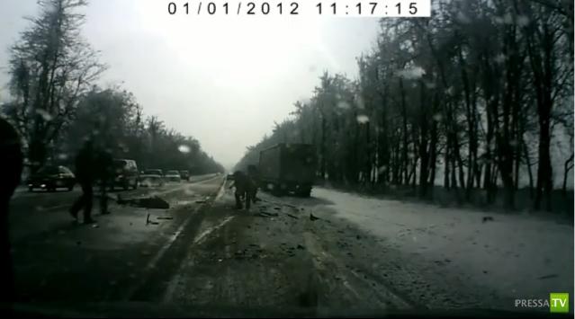 Жуткая авария на трассе Нальчик-Пятигорск
