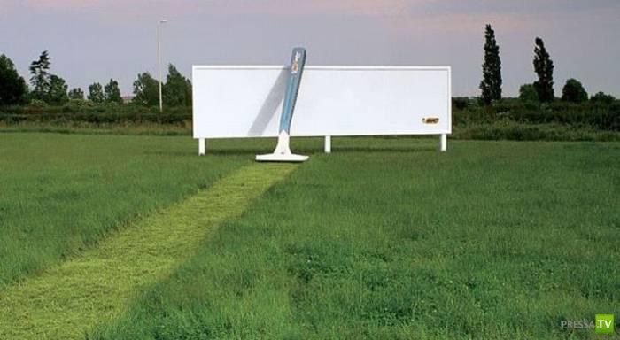 Креативная реклама (20 фото)