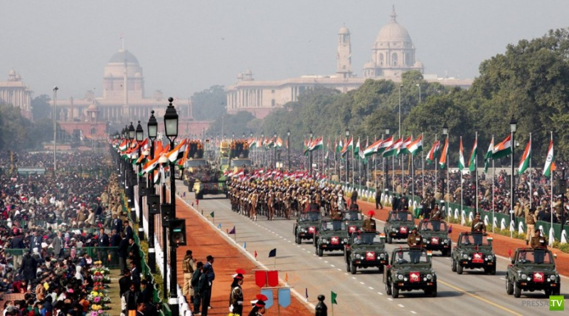 Индия отметила День Республики