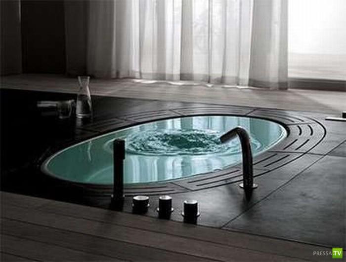 Очень необычные ванны (24 фото)