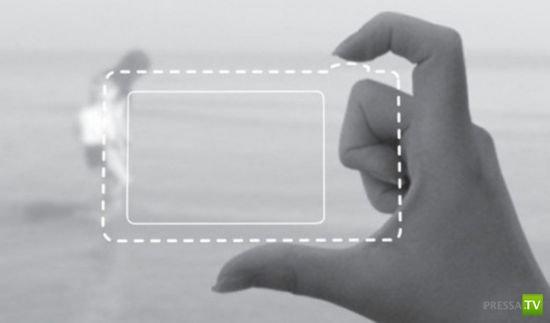 Фотографируем пальцами