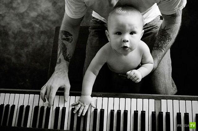 Татуированные родители... (29 фото)