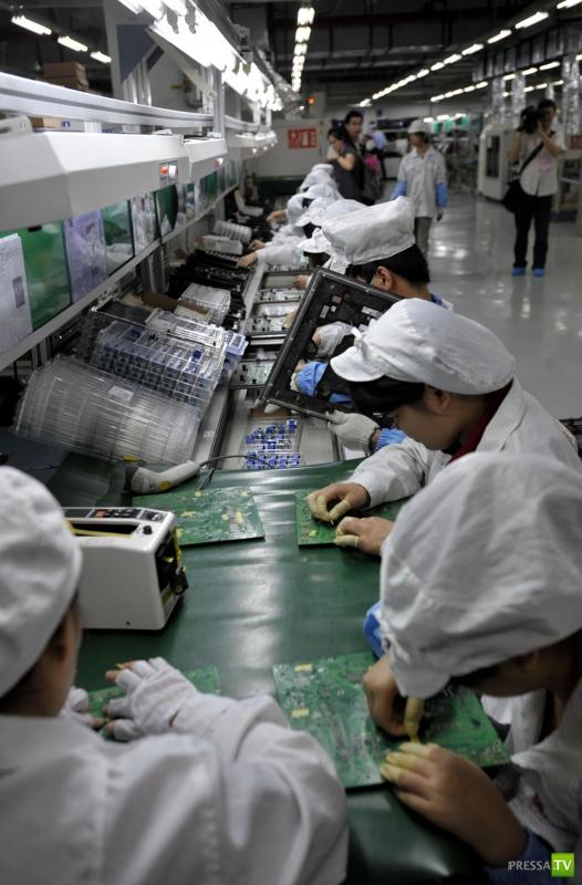 Foxconn — фабрика смерти