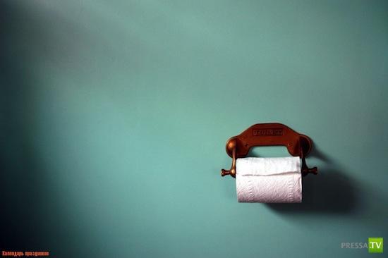 10 фактов о туалетной бумаге... Неизвестное об известном: