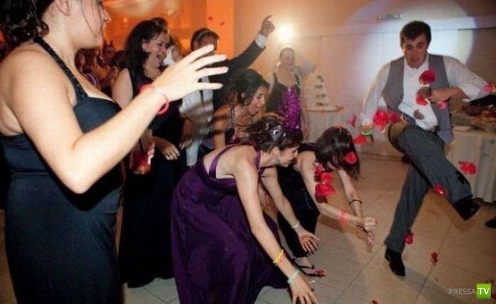 Свадебный переполох ( 4 фото)