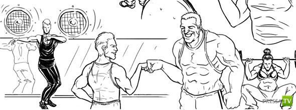 Работа фитнес-тренера изнутри