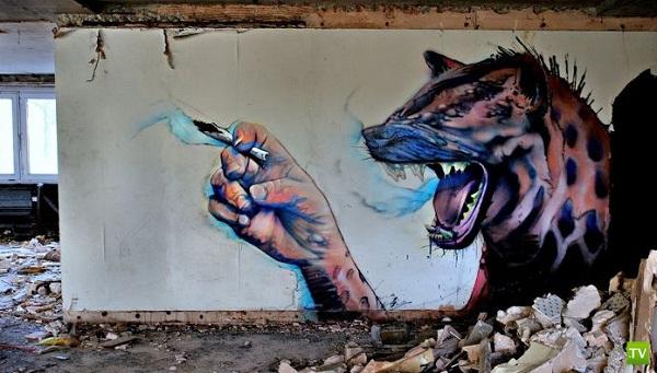 Лучшее граффити ушедшего января (26 фото)