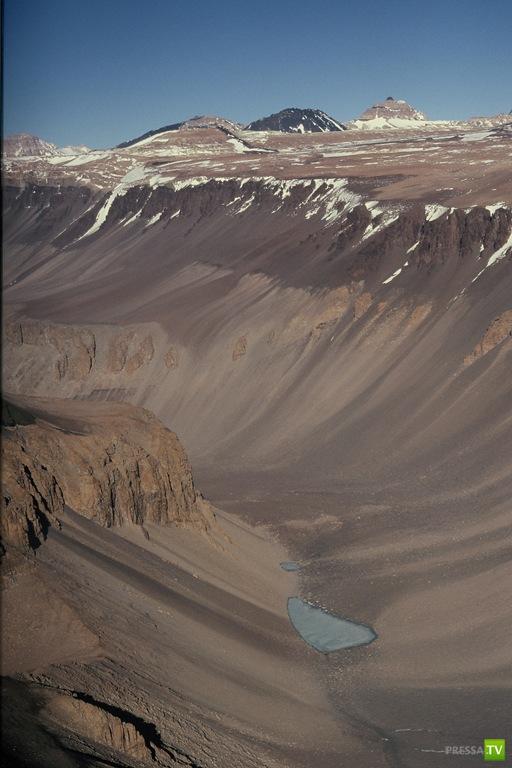 Пустыне Атакама самое сухое место на Земле