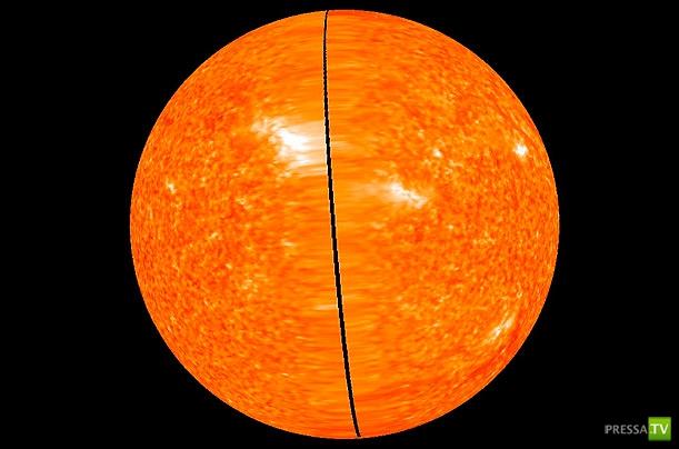 Удивительные фотографии Солнца