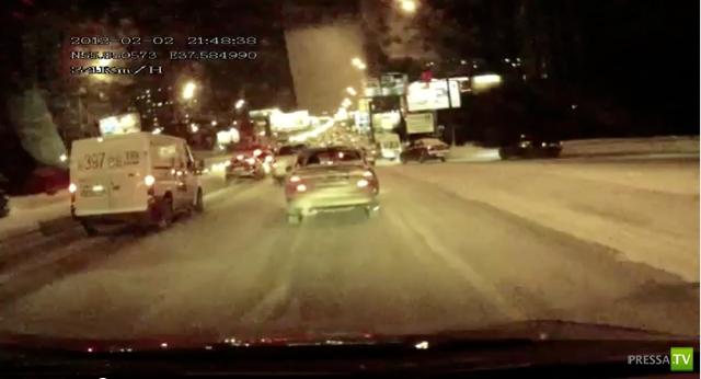 Авария на Алтуфьевском шоссе г. Москва