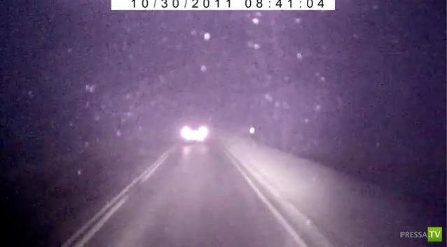 Серьезная авария в тумане Иркутская область