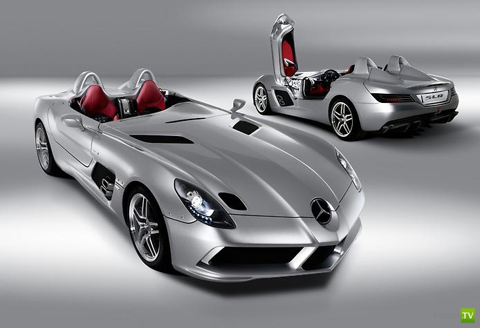 Невероятный Mercedes McLaren SLR Stirling Moss