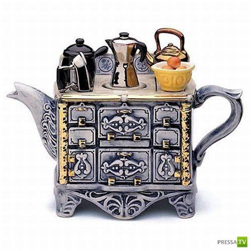 Креативные заварные чайники (28 фото)