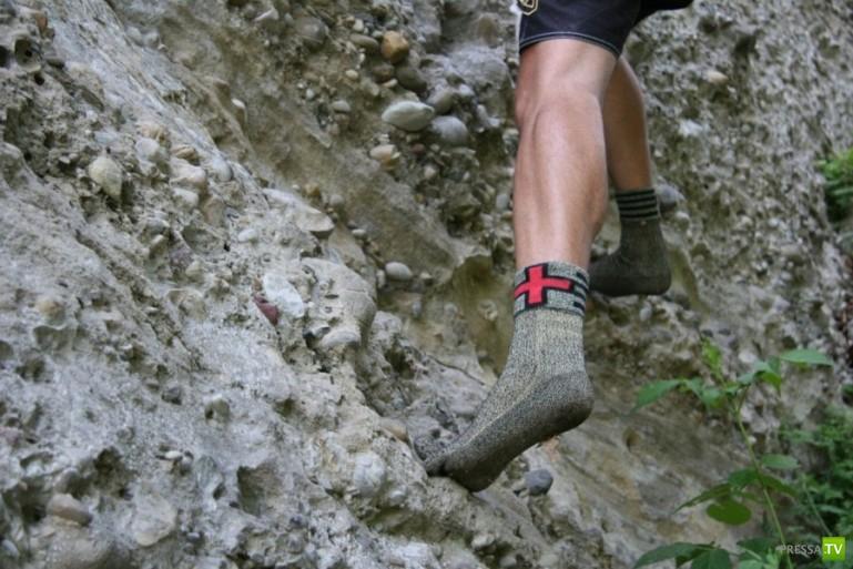 Носки вместо обуви? Швейцарцы выпустили носки, заменяющие обувь