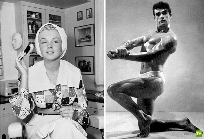 Редкие фотографии знаменитостей прошлых лет... Подборка малоизвестных снимков